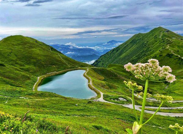 #riezleralpsee . . . . . . #riezlern #kleinwalsertal #wandern #alpen #berge #kanzelwand #mountains