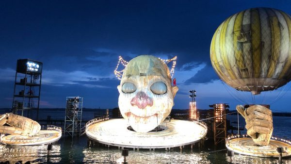 Premiere for me @bregenzerfestspiele and truly amazing evening after the weather gods were showing some mercy and...