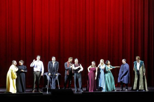 """I was really missing our big """"Bayerische Staatsoper Opera Studio family"""" 😄😄🥰🥰. It ..."""