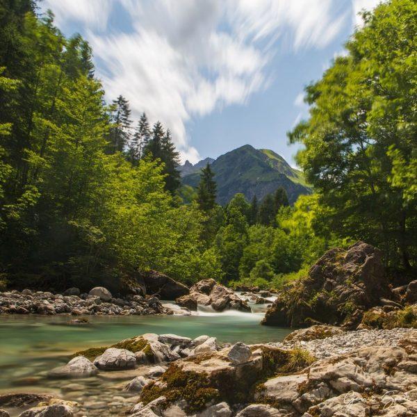 Vandaag hebben we de prachtige Breitachweg van Baad naar Riezlern gelopen. Ook in ...