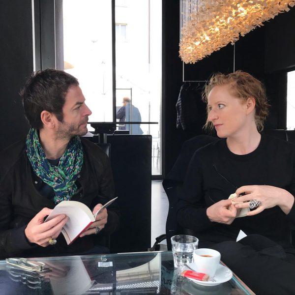 #anrisala #virginiadellenbaugh #kubcafe #writer #musicologist #cafeteria #bregenz #kunsthausbregenz #kub #departmentofmusic #catalogue #verlagwaltherkoenig