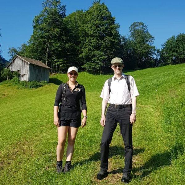 Die heutige Wanderung mit @sabrinaressag führte unsere Gäste bei super Wetter auf das wunderschöne Hochvorsäß und auf...