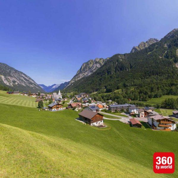 Destination Projekt Brandnertal als Teil der Alpenregion Bludenz. Alle 360° Bilder ➡️ #360ty ...