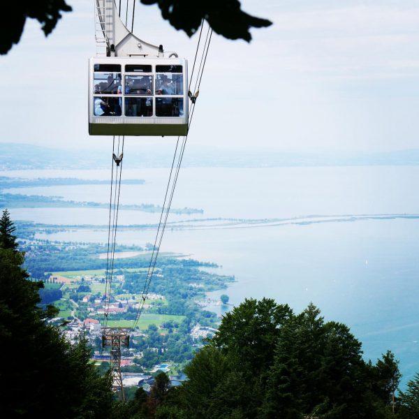 der wunderbare #Bodensee #lagodiconstanza #pfänder Berg Pfänder - Bregenz (A)