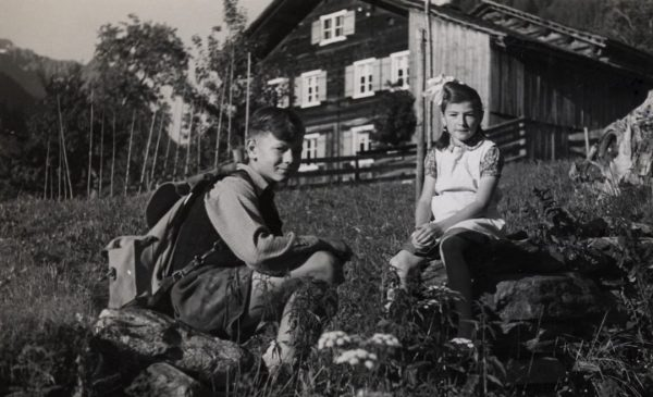 Nach dem Ende des 2. Weltkriegs wurden zahlreiche Kinder aus anderen Regionen Österreichs ...