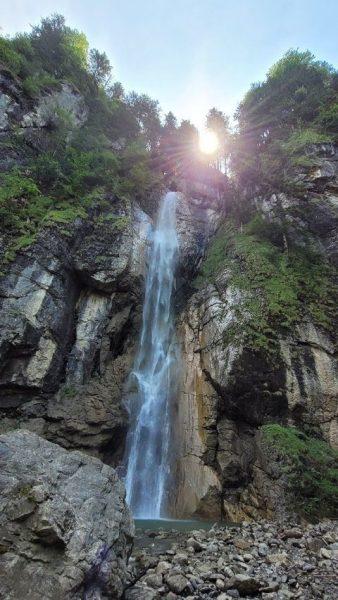 Rudach-Wasserfall bei Dornbirn.