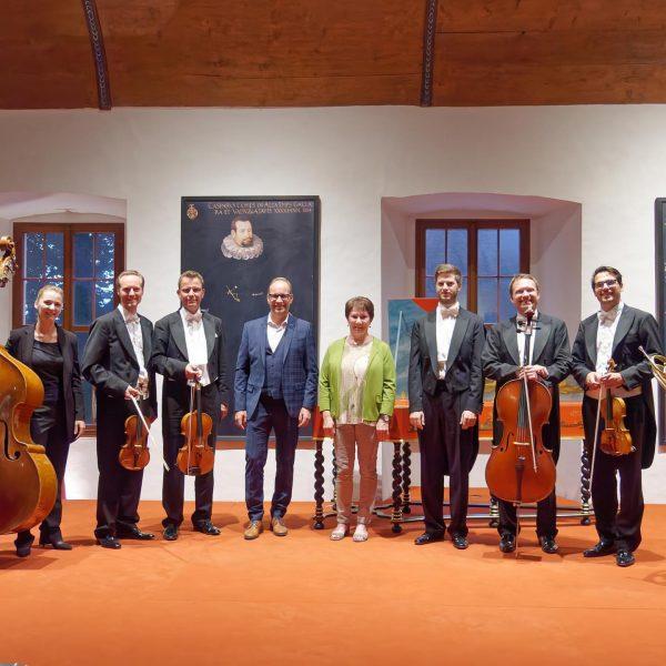 Klassik auf höchstem Niveau. Das Honeck Quartett im Rittersaal in Hohenems. #hohenems #vorarlberg ...