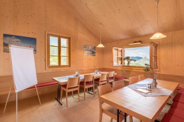 ✏ Seminare & Workshops auf 2.089m - der wahrscheinlich höchste Seminarraum der Alpen ...