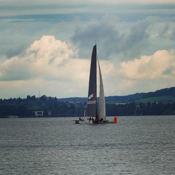West-Ost 21: Die Skinfit ist am Samstag den 111 anderen Booten davon geflogen ...