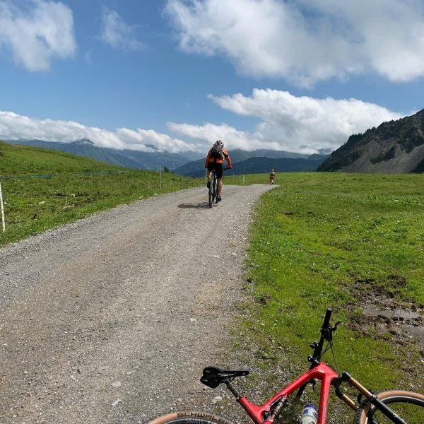 Geführte Biketour - weils so toll war wurde dem Guide das Bike gewaschen ...
