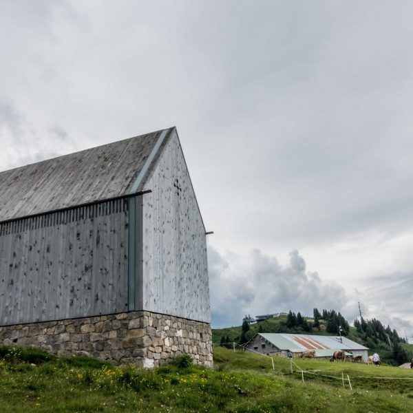 Who knows the Theodul chapel by the Vorarlberg architectural firm Cukrowicz Nachbaur on ...