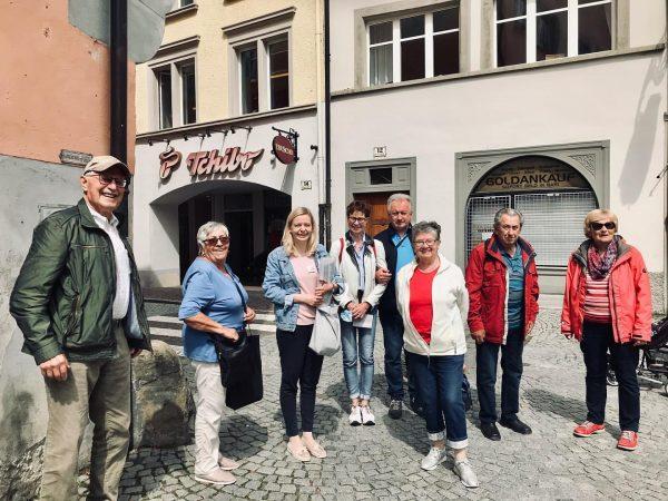 Was ich bei meinen Touren durch Feldkirchs Alstadt immer liebe: die Gäste erfahren ...