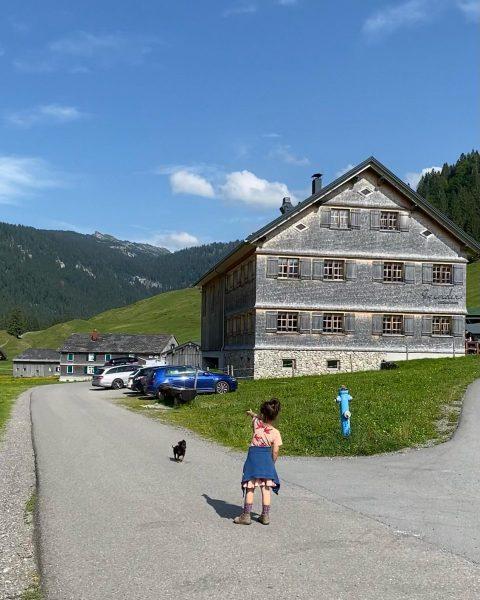 Well, … Schönenbach Alp, Vorarlberg, Austria
