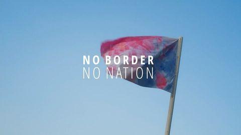 'No Border, No Nation' Gemeinsam mit Euch haben wir unsere erste große Kunstinstallation ...