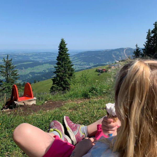 Familienwochenende🥰 #allejahrewieder #abindieberge #wandernmitkindern #bergluft #seilbahnbezau #vorarlberg #bregenzerwald #schönwars Bezau