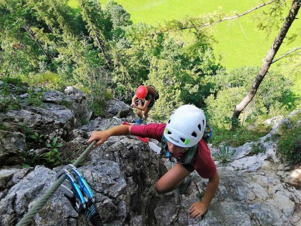 🏕️ 🤸♀️ 👣 Biken, Klettersteig, Baden, Bachwandern, Klettersteig, Klettern, Canyoning, Raften, Fackelwandern durch ...