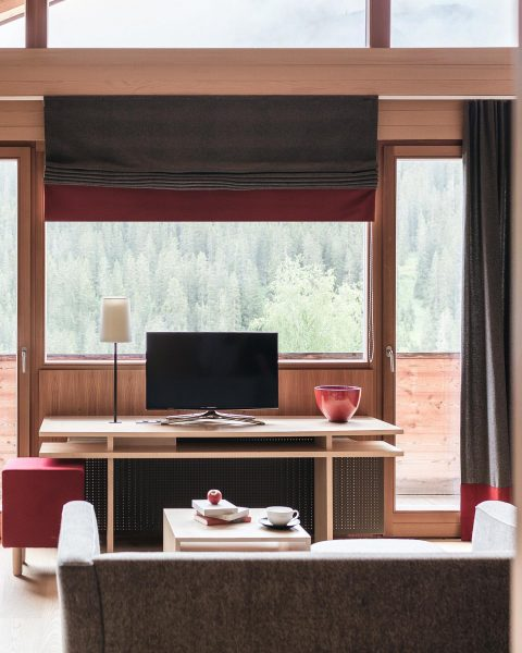 Rainy days are cozy days 🌿 Rote Wand Gourmet Hotel
