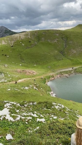 Mountain magic 🦋🏔 • • • • • • mountains #landscape #travel #hiking ...