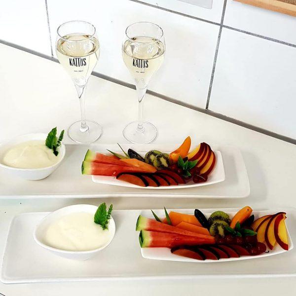 Auch das gibt's bei uns - kulinarische Überraschungen im Spa 🤩 #sonnemellau #sonne ...