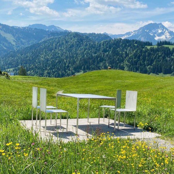 Die Georunde Rindberg in Sibratsgfäll macht mit ihren 13 Stationen die Kraft der ...