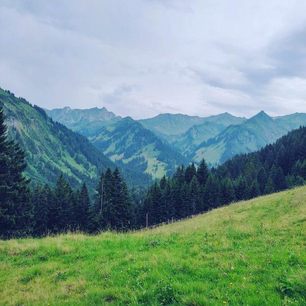 | 250721 • rainy hike to the top | #austria #trip #kleinwalsertal #german #friends #hike Kleinwalsertal, Mittelberg