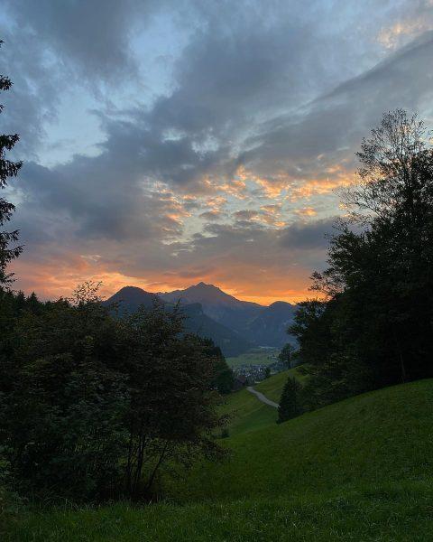 Kressbronner Hütte - es war mir jedes Mal eine Ehre. #goodbye #kressbronnerhütte #bizau ...
