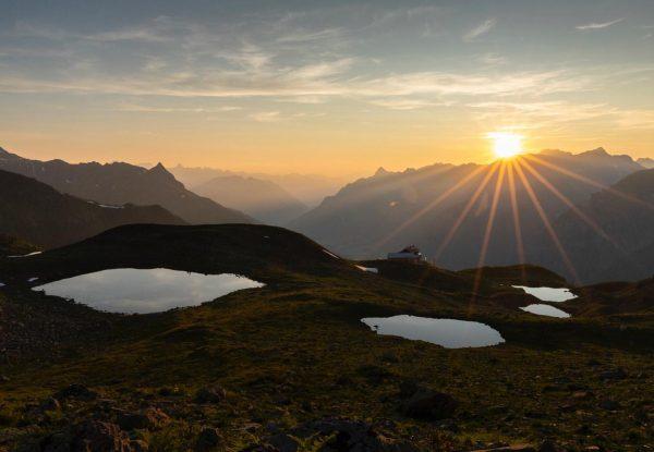 Bye bye August - hello September ☀️⛰🍂 #latesummer #collectmoments #helloseptember #autumniscoming #hikingseason #visitvorarlberg ...
