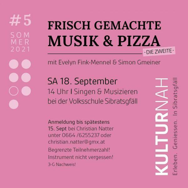 Erleben. Genießen. In Sibratsgfäll KULTUR.Nah.... Sei dabei! #meinsibratsgfäll #visitbregenzerwald #visitvorarlberg #sehenswert #music #pizza ...