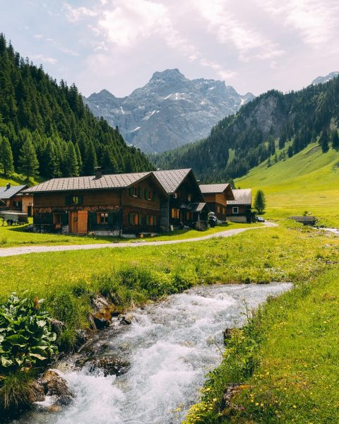 Located within a car-free nature park in the very west of Austria, the ...