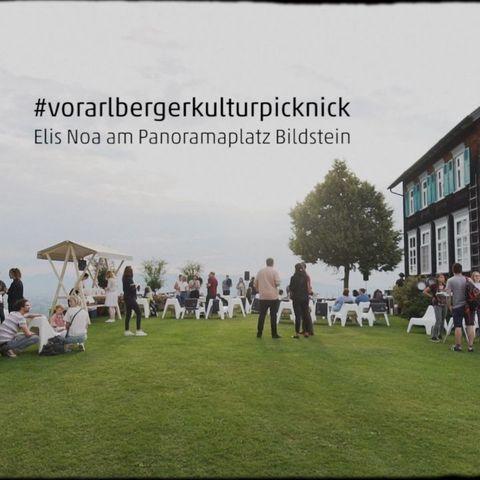 Was für ein Abschluss unserer Vorarlberger Kuturpicknicks 😍: Stimmungsvolle Musik von @elis_noa 🎶, ...