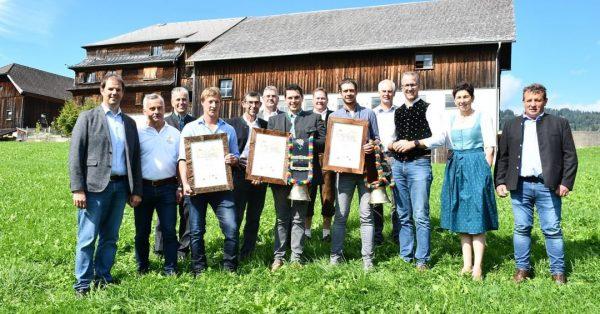 Am vergangenen Wochenende wurden bei der 28. Vorarlberger Käseprämierung in Schwarzenberg die besten ...