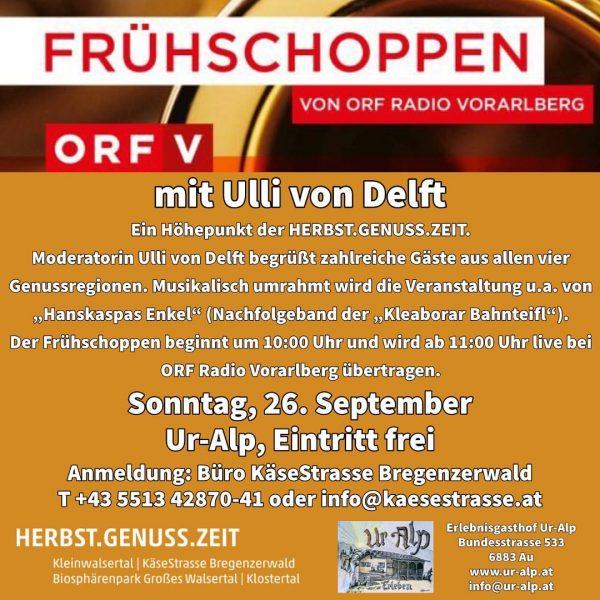 ORF Frühschoppen. Wir freuen uns auf dieses ganz besondere Highlight am kommenden Sonntag! ...