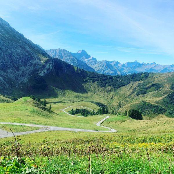870 Höhenmeter gemeistert🏔 #wasauchimmerwirhierhaben #kanzelwand #kleinwalsertal Kanzelwand