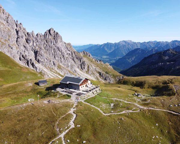 📍Fiderepasshütte Kanzelwand bergstation - Fiderepasshütte - Innere Kuhgehren Alpe - Hirschegg 14 km ...