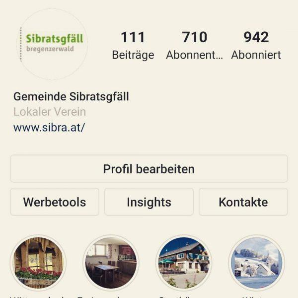 Was ist DEIN LIEBLINGSPLATZ in SIBRATSGFÄLL? Zeig es uns auf Instagram! Das neue ...