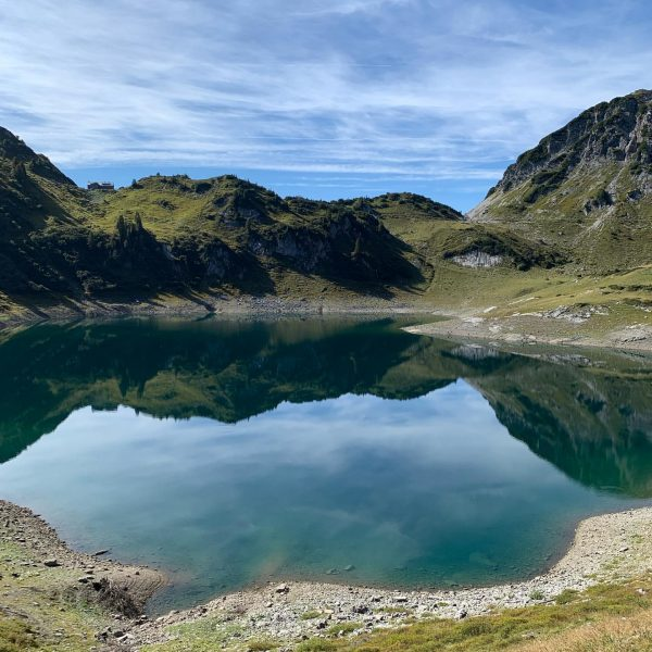 1. Stage of #lechweg: 14 km from #formarinsee to #lech. Beautiful landscape in ...