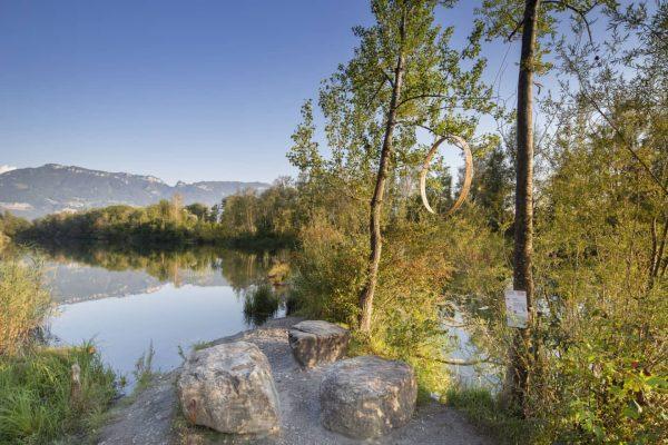 Der Alte Rhein ist ein beliebtes Naherholungsgebiet zu jeder Jahreszeit. Im Sommer bietet ...