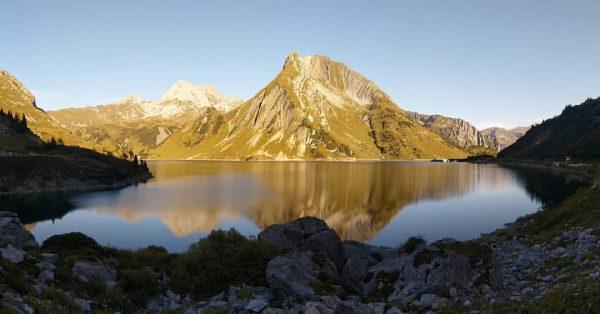 🏞️🍀🚶 #spullersee #panorama Lech Am Arlberg Spullersee