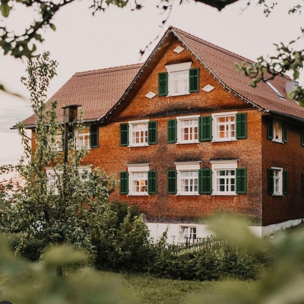Mesmerhaus in Bildstein - 150-year-old house with three luxury apartments - amazing view ...