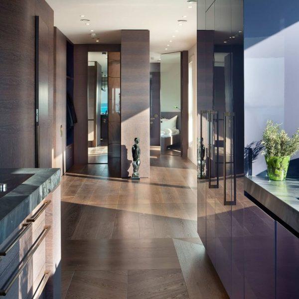 Die ganze Wohnung ist ein Möbel Penthouse Lochau. Von der Fußleiste über den ...
