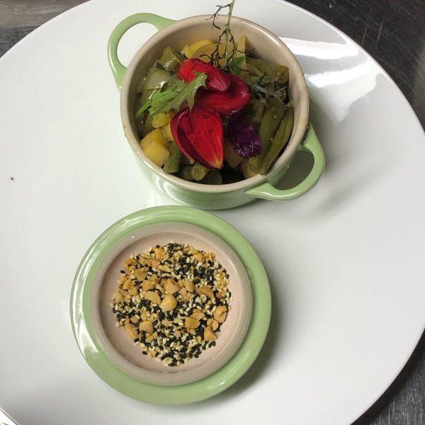 Auf ein Neues: Eine köstliche vegetarischer Kochrunde bei Frau Kaufmann mit neuen Kreationen ...