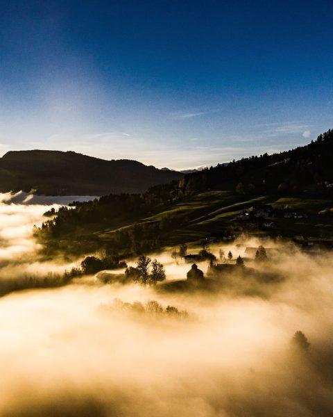 Ein wunderbarer Herbstmorgen im Bregenzerwald. 📸 Martin Fetz || Friendship.is #landschaft #landscape #herbstmorgen ...