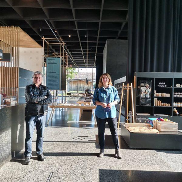 Am vergangenen Freitag besuchten wir mit unseren MitarbeiterInnen die aktuelle Ausstellung
