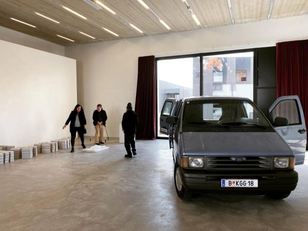 something new is in preparation at our gallery by Gottfried Bechtold … 😁 ...