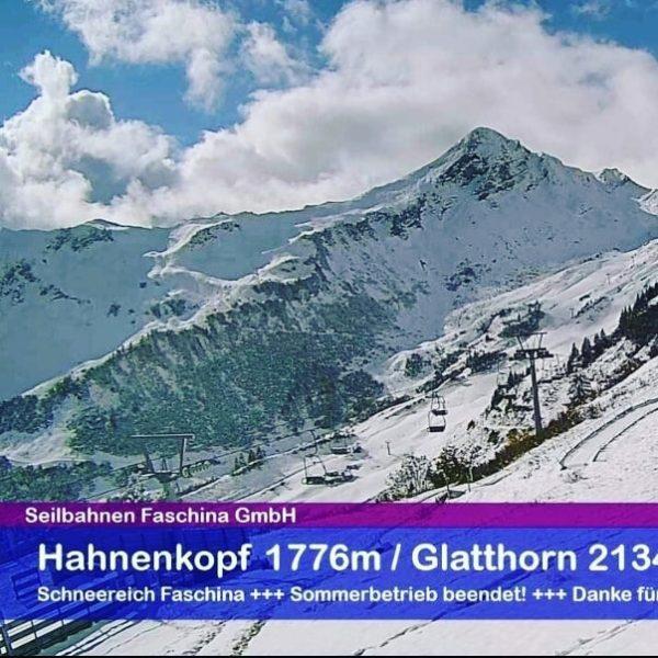 Da bekommt man schon Lust aufs Skifahren. #schneereichdamüls #faschina #vorfreude😍 #wintersaison2021und2022 Seilbahnen Faschina
