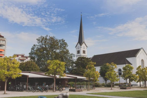 Die Marktgemeinde @hard_am_bodensee liegt direkt am Bodensee, eingebettet von der Bregenzer Ach und ...