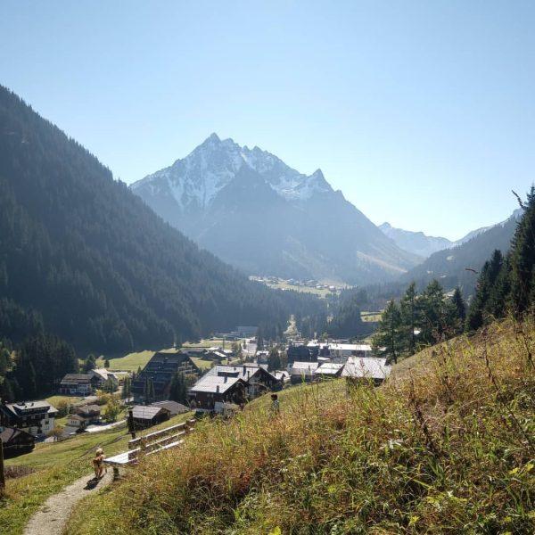 Gargellner Fensterweg #meintraumtag #meinmontafon #silvrettamontafon Gargellen, Vorarlberg, Austria