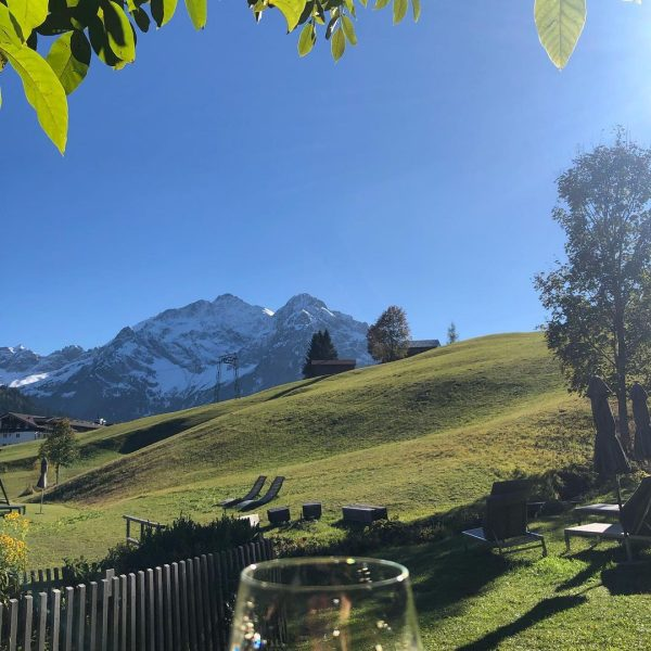 #Kleinwalsertal #hirschegg #vonhüttezuhütte #traumwetter Das Naturhotel Chesa Valisa****