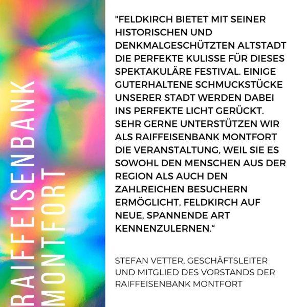 Feldkirch auf neue, spannende Art kennengelernt – das haben sicherlich einige am vergangenen ...