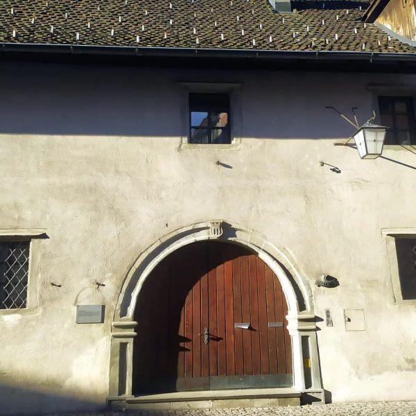 Bürgerliches Zeughaus ( Mitte 15. Jh.) in Feldkirch.